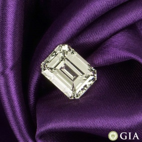 Emerald Cut Diamond 8.02ct O-P/VS2